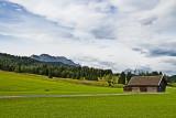 zwischen Mittenwald und Klais, Blick auf die Alpspitz