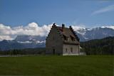 Blick auf den Karwendel beim Kranzbach