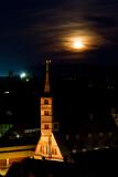 Rathausturm im Mondlicht
