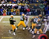 Favre Passing in the Red Zone