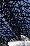 Hangar de chantier naval à Nantes