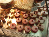 Delicacies at a Paris patisserie