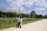 Jardin Tuileries, Paris, France