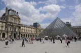 Louvre courtyard, Paris
