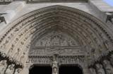 Entrance, Notre Dame cathedral, Paris