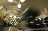Cite metro stop, Paris