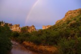Rainbow over Queen Creek