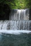 Emerald clear water stream