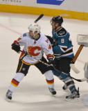 Sharks vs. Flames - February, 2012