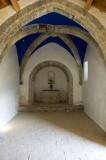 Interior Ermita de Santa Waldesca