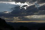 Atardecer en el valle del Cinca