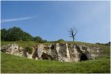 de Kalksteenrotsen van de Winkelberg