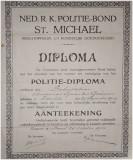 Politie diploma A met Aantekening