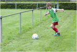 Luca bij de Ster Soccer Challenge