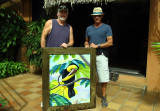 Charles and I posing with painting copy.jpg