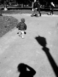 little man in the park