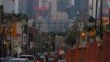 Toronto: Dundas West construction -hot and sticky day