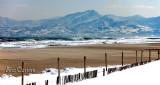 La côte Catalane...enneigée :)