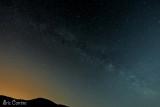 la voie Lactée au dessus du Vercors...
