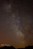 La voie Lactée au dessus des Pyrénées