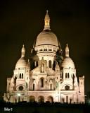 La Basilique du Sacré Coeur de Montmartre....Classical shot :)