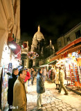 Dans les rues de Montmartre...