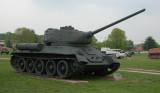 Russia T -34-85. 1945