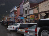 After a short shower in down-town Silverton