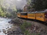 Steaming along Animas River