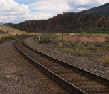 Tracks in Dotsero Cutoff