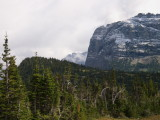 View from Logan Pass