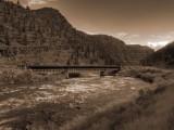Rail Road Bridge over Colorado River