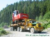 Madill 3800B Log Loader Being Delivered