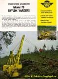 Model 78  Brochure Cover 1973