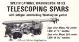 'Telescoping Spars' Washington 158/208