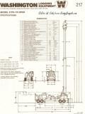 Washington 217D Yarder Spec Sheet