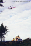 Helicopter Thinning at Tenino 1996