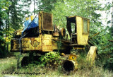 Trackloader Near the Old Rail Spur