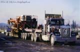 Madill 171 Yarder on Interstate Truck