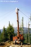 Madill 071 Yarder in the Cascade Range