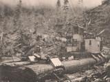 Madill 009 Yarder on Spruce-Log Sled