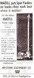 1967 Madill Ad-  Madill 009 Yarder