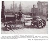 Washington Log Truck--  Pre 1920's