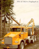 Log Truck #18  at Tenino Wa 1996