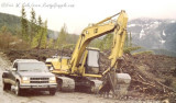 Caterpillar 315L at Snoqualmie -1999