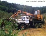 Barko 250 Loader on Autocar Truck