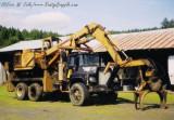 Barko 250 Loader on Mack Truck