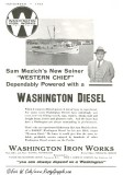 1936 Washington 'Diesel Engines' Ad