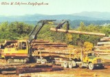 Log Loader Gallery: Bucyrus-Erie