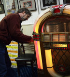 ...play the old jukebox, a ....